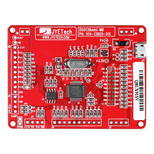 Image 3 - JYE Tech DSO138 Mini Digital OscilloscopeชุดDIYชุดSMDชิ้นส่วนPre ชุดอิเล็กทรอนิกส์การเรียนรู้Soldered 1MSa/Sโปร่งใสกรณี