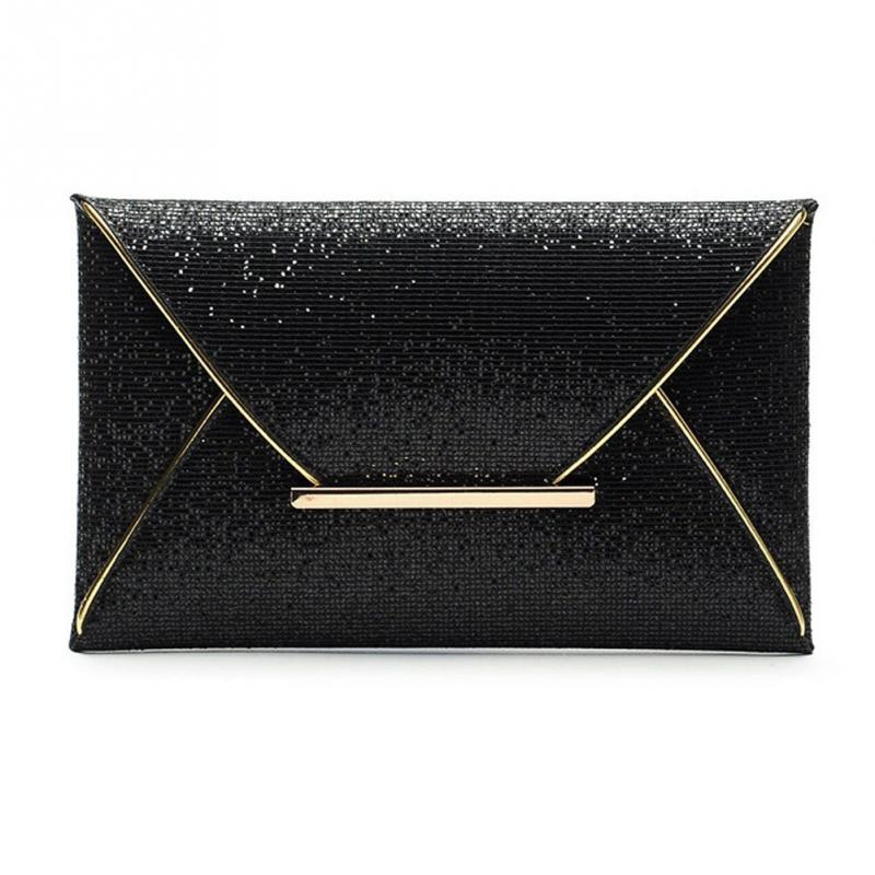 Women Glitter Sequin Evening Party Bag Ladies Tote Messenger Bag Handbag