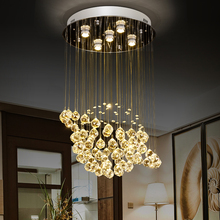 globe shape Crystal  Chandelier  Round Crystal Lamp Modern Crystal Light Fixture  Hanging Lustres  Luminaire Home Lamps 110-220V цена
