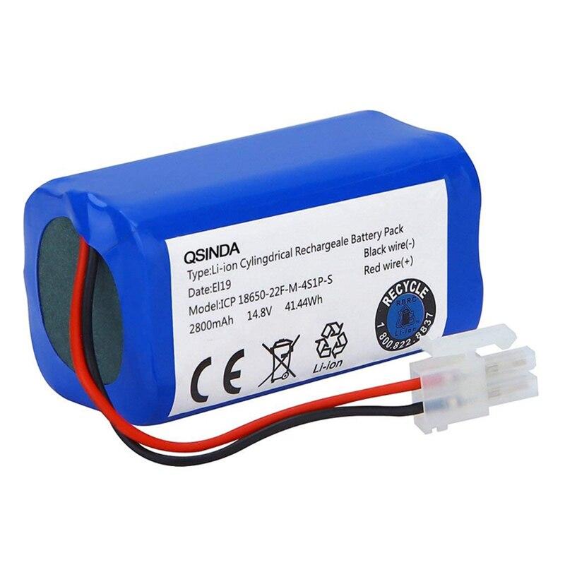 Batterie de remplacement 14.8 V 2800 Mah pour aspirateur Robot Ilife A4 A4S A6 V7