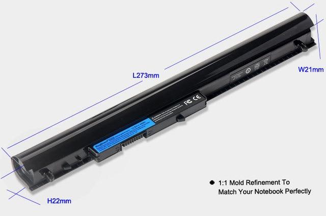 Korea Cell 3200mAh OA04 Laptop Battery for HP 240 245 250 G2 G3 HSTNN-PB5S HSTNN-IB5S HSTNN-LB5S OA03 740715-001 746458-421