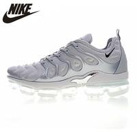 Мужские кроссовки для бега Nike Air VaporMax Plus, противоскользящие износостойкие воздухопроницаемые кроссовки #924453 005