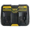 Werkzeug Zubehör Dcb102 Doppel Li Ion Batterie Ladegerät Usb Out 5V Für Dewalt 10 8 V 12V 14 4 V 18V Dcb101 Dcb200 Dcb140 Dcb105 Dcb2-in Ladegeräte aus Verbraucherelektronik bei