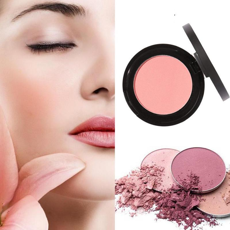 Cheek Blusher Face Blush Powder Palette Rouge Beauty Cosmetics Face Concealer Palette Cream Makeup Dual Use Face Color Blush