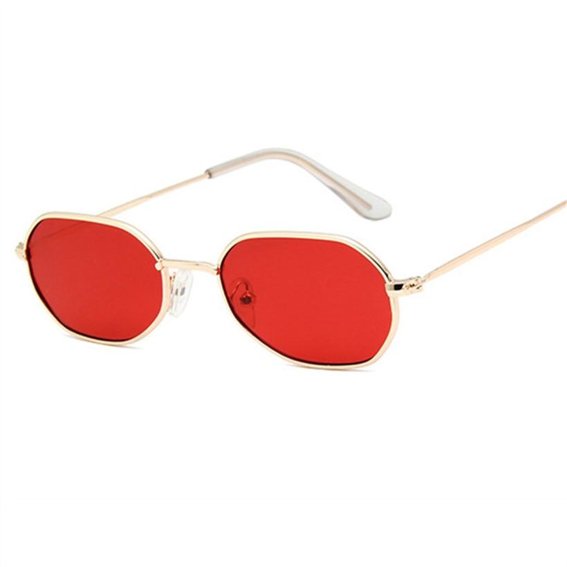 XojoX Round Sunglasses Women Fashion Luxury Barnd Designer Retro Metal Small Sun Glasses Vintage Yellow Glasses Goggles UV400