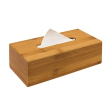 Бамбуковая коробка 7,5x24x12 см используется для бумажных носовых платков, в качестве Диспенсера для бумажных полотенец со съемным дном в качестве косметического средства