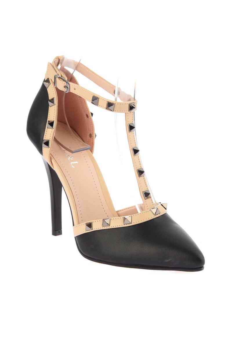 Soho Zapatos Negro De 12604 Alto Tacón Mujer qU0q4w1