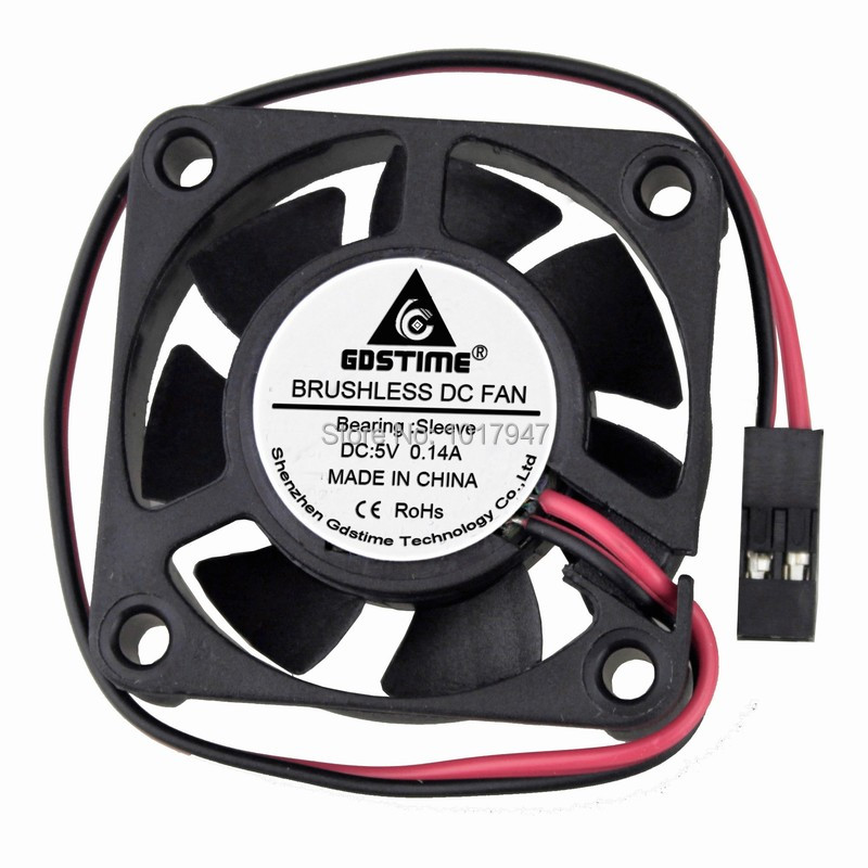 20 PCS Lot Gdstime 4010 5V Dupont 4cm 40mm X 10mm DC Ventilation Cooling Cooler Fan