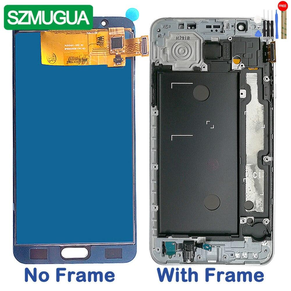SZMUGUA 5.5 Adjust Brightness LCD For Samsung Galaxy J7 2016 J710H J710FN / DS  J710F J710M LCD Display Touch Screen DigitizerSZMUGUA 5.5 Adjust Brightness LCD For Samsung Galaxy J7 2016 J710H J710FN / DS  J710F J710M LCD Display Touch Screen Digitizer