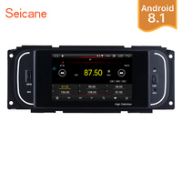 Seicane Android 8.1 1Din 5 Car Radio For Chrysler 300M Jeep Grand Cherokee Dodge Audio Stereo Head Unit GPS Multimedia Player
