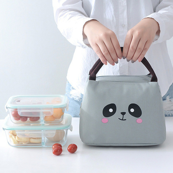 Oxford Thermal Lunch Bags Women's Portable Ice Cooler Bag Family Picnic Insulated Food Storage Pouch Accessories Supply Product oxford thermal lunch bag insulated cooler storage women kids food bento bag portable leisure accessories supply product stuff