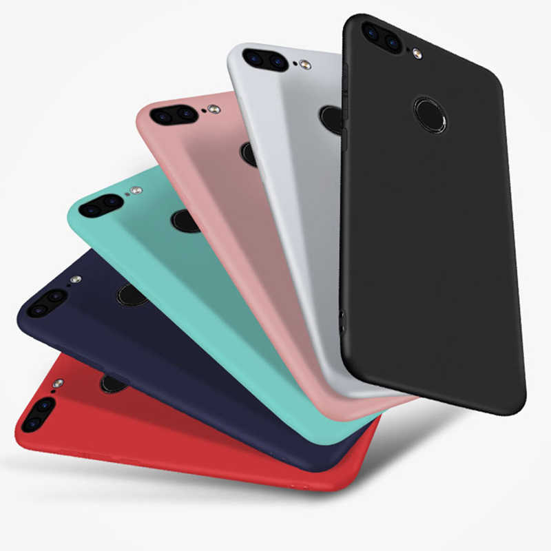 Silicone cover case For Huawei Y9 Y6 Prime 2018 Mate 10 P20 Lite Soft TPU back cover for Honor10 9 8 Lite 7A Pro 7C 7X 6A 6C Pro