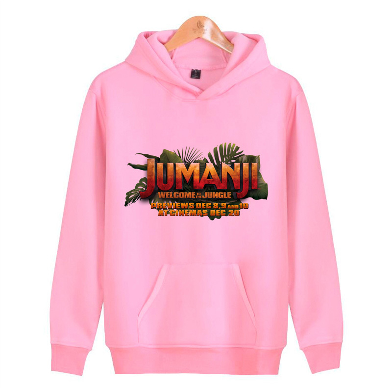 jumanji Sweatshirts Hoodies Men For Male Brand Clothing Sportswear male top fashion N7425