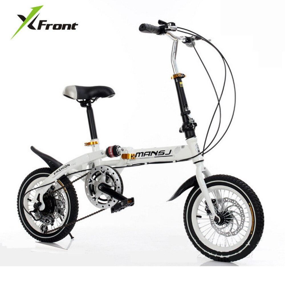 Freins à disque à roue dentée d'origine de marque x-front amortissement vélo pliant enfants Bmx dame vélo