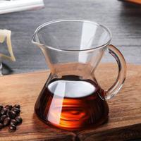 Único Servir Café Pote Pote De Café de Vidro Pote de Vidro Mini Perfuração Mão Bonito Ouvido Pendurado Pote de Perfuração Mão|Jarros| |  -