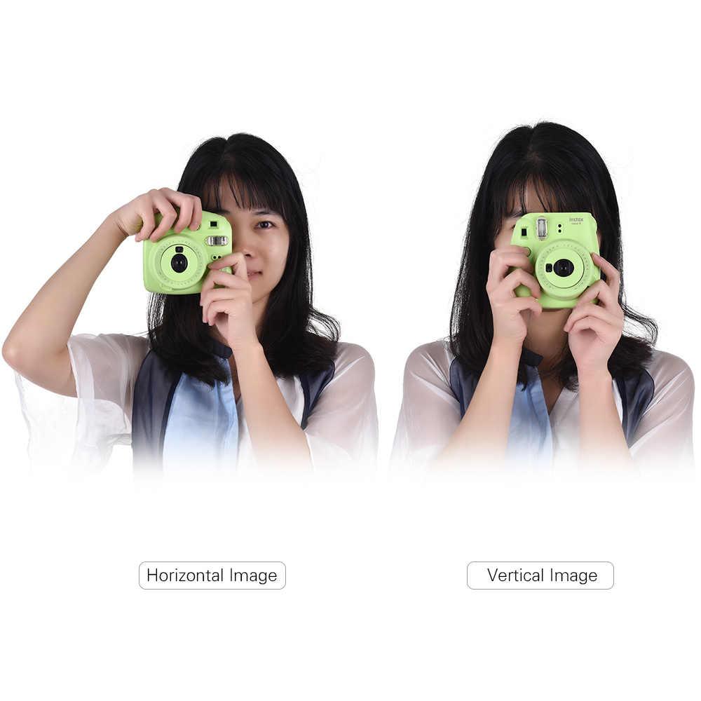 6 opcji Fujifilm Instax Mini 9 aparat natychmiastowy Film Cam z lustrem Selfie + 20/30/60 natychmiastowa biała folia papier fotograficzny + torba na aparat