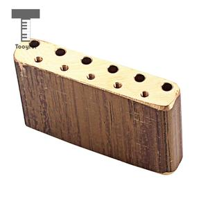 Image 3 - Tooyful Finest Brass Tremolo Block Sustain Bridge for Strat Electric Guitar Replacement Parts