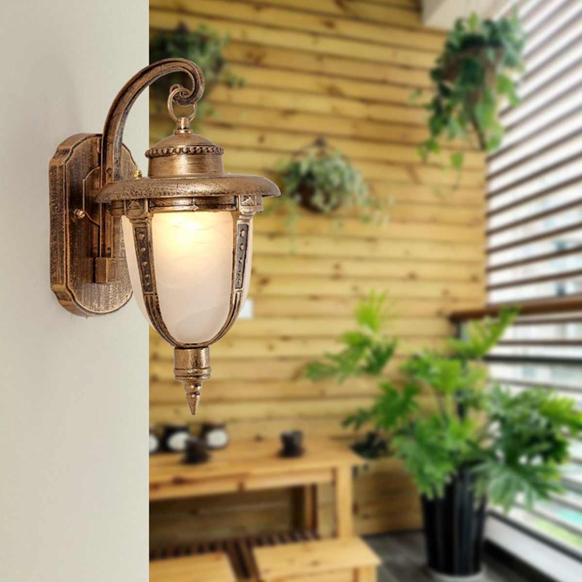 Vintage Garden  Exterior Vintage Outdoor Hanging Lantern Pendant Light Garden Porch Home Hallway Garage LampVintage Garden  Exterior Vintage Outdoor Hanging Lantern Pendant Light Garden Porch Home Hallway Garage Lamp