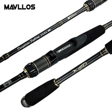 Mavllos Saltwater Carbon Spinning Rod 1.95m-2.4m Lure Weight 7-20g Fast 5-14LB Superhard Ultralight M Pole Tip Fishing