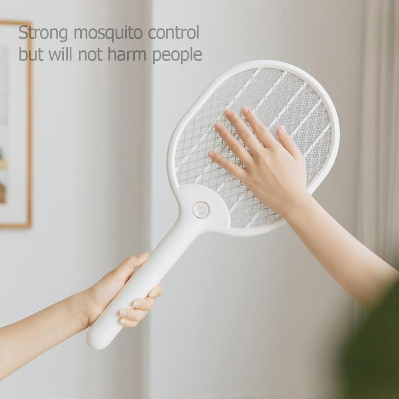 USB Electric Pest Control Racket Zapper Anti Mosquito Fly Swatter Killers Home Garden Pest Control