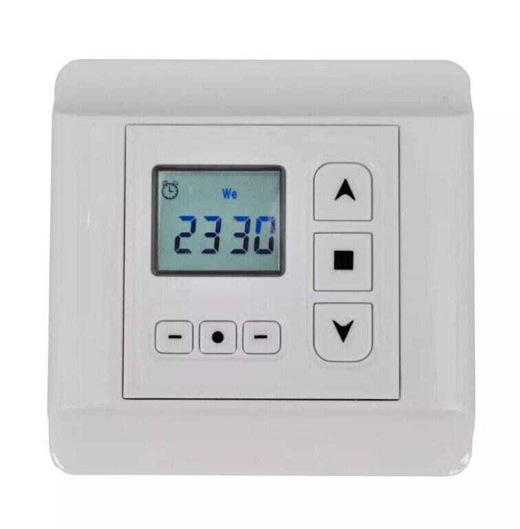 Контроллер VidaXL для роторного двигателя с программируемым таймером семейная интеллектуальная система умный дом контроллер резервного заряда с led дисплеем