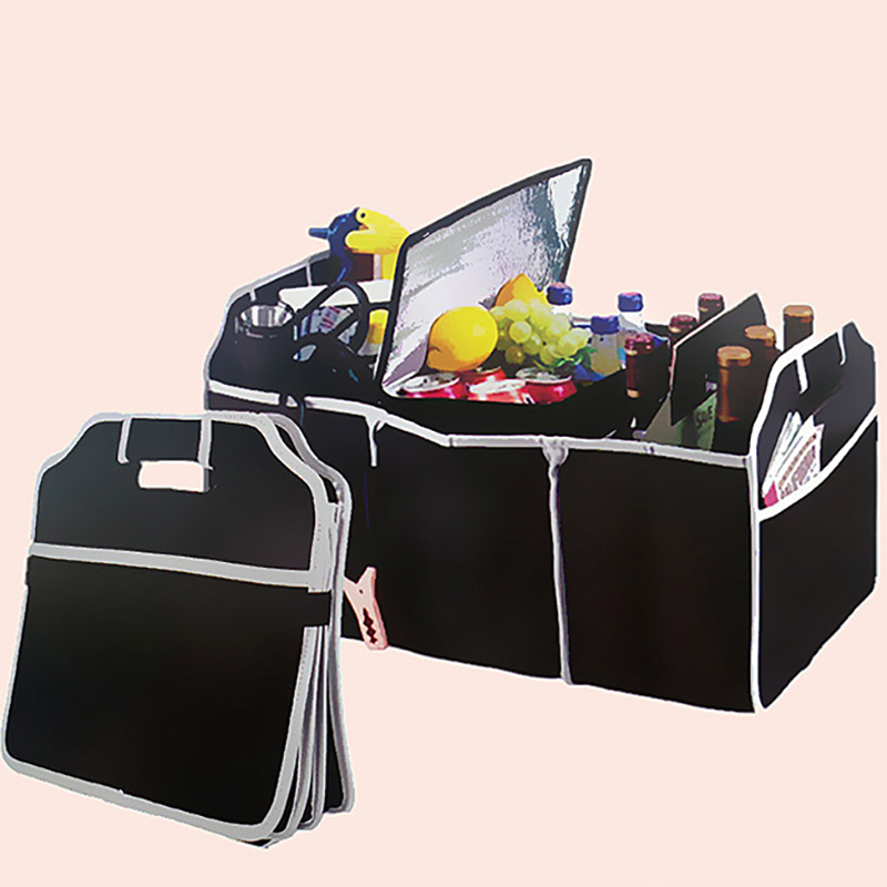 Bags Car-Organizer Auto-Accessories Food-Storage Container Foldable Large-Capacity Trunk