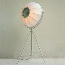 Nordic Loft LED Floor Lamps Classic Adjustable Light Photography Satellite Shape Photo Studio Living Room Lamp Stand