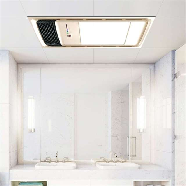 220v bathroom electric heater exhaust fan warmer ceiling - Ceiling mounted bathroom heaters ...