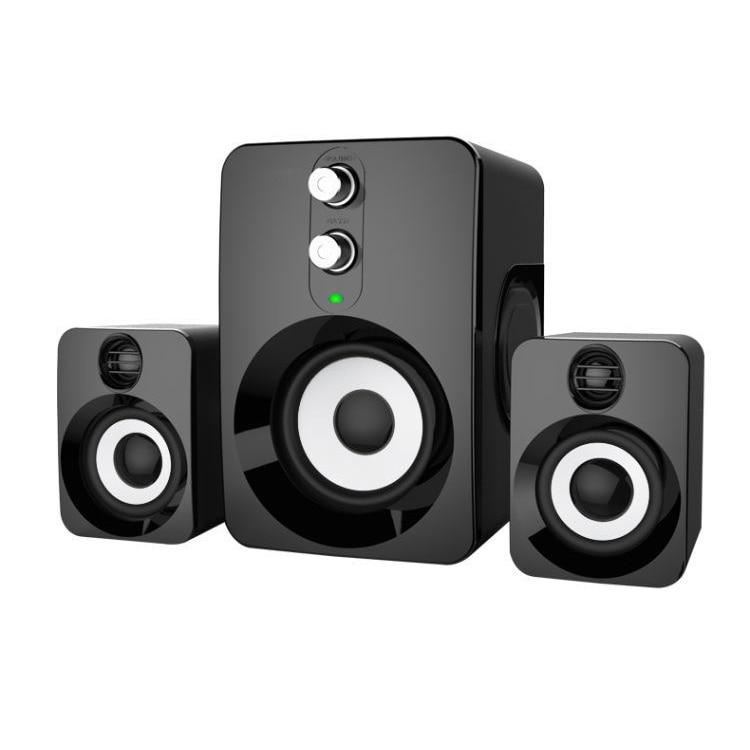 Kombination-lautsprecher Effizient 2,1 Stereo Computer Lautsprecher Usb 3.5mm Aux Schwere Bass Für Handy Computer Laptop Tragbare Audio Neue