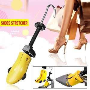 Image 2 - גברים נשים 2 דרך מתכוונן נעלי אלונקה גודל S/M/L 28 48 עקבים מגפי עצים מעצב Expander יוניסקס פלסטיק לשמור על צורה