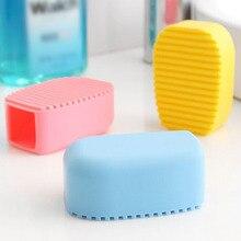 Конфеты цвета мини ручной силиконовый умывальник Прачечная щетка произвольного цвета пластиковый умывальник доска для мытья рубашки Чистка белья