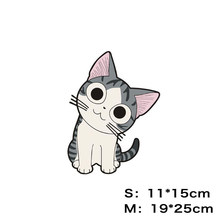 Kawaii Car-Styling Sticker Chi's Cat with a Wry Neck Lovely Styling Accessories Fridge Motorcycle Auto Closet Suitcase Sticker(China)