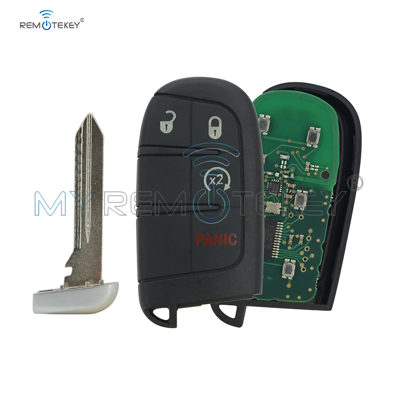 Remtekey M3N 40821302 Smart key 4 button 434Mhz with 46 chip 68143500AA 68143500AB 68143500AC for Jeep Grand Cherokee 2014 2017