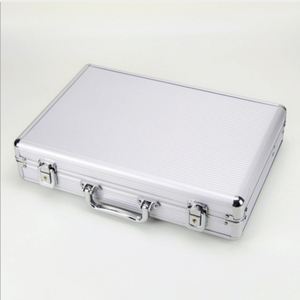 Image 4 - 24 Grid Aluminum Suitcase Case Display Storage Box Watch Storage Box Case Watch Bracket Clock Watch Clock Box