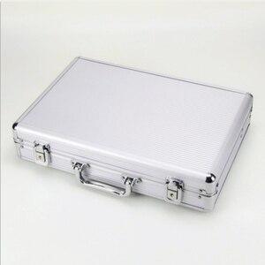 Image 4 - 24 ตารางอลูมิเนียมกระเป๋าเดินทางกรณีกล่องเก็บนาฬิกากล่องนาฬิกานาฬิกานาฬิกาปลุกนาฬิกากล่องนาฬิกา