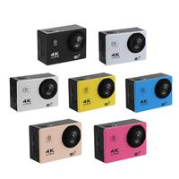 F60R 4K WIFI Action Camera Set 1080P HD 16MP 30m Waterproof 170 Degree Wide Angle Lens Sports DV camera with Remote Control New
