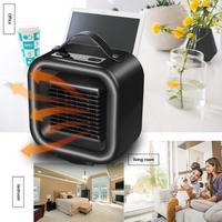 3 Modes Intelligent LED Desktop Heater PTC Indoor Electric Heater Warmer Air Heating Fan Ceramic Portable Smart Space Heater
