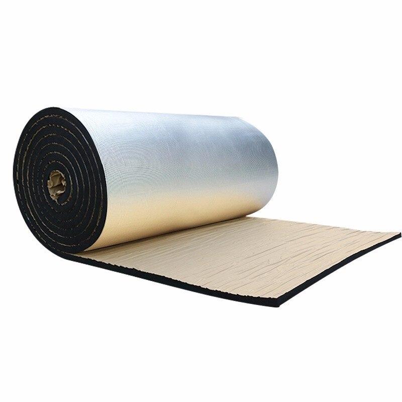 50*200cm Car Sound Deadening Deadener Acoustic Insulation Noise Soundproof Bloack Heat&sound Thermal Proofing Pad