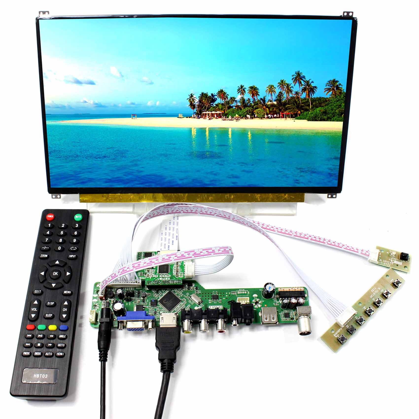 13.3 N133HSE Backlight WLED 1920x1080 Resolution 13.3inch IPS LCD Screen 30pins eDP Connector vga hdmi lcd edp controller board led diy kit for lp116wh6 spa1 lp116wh6 spa2 11 6 inch edp 30 pins 1lane 1366x768 wled ips tft