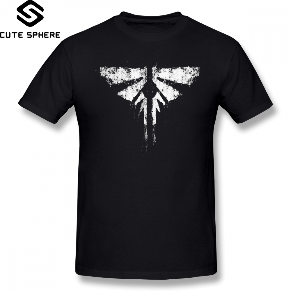 The Last Of Us   T     Shirt   The Last Of Us Fireflies   T  -  Shirt   4xl Cotton Tee   Shirt   Graphic Fashion Short-Sleeve Male Funny Tshirt