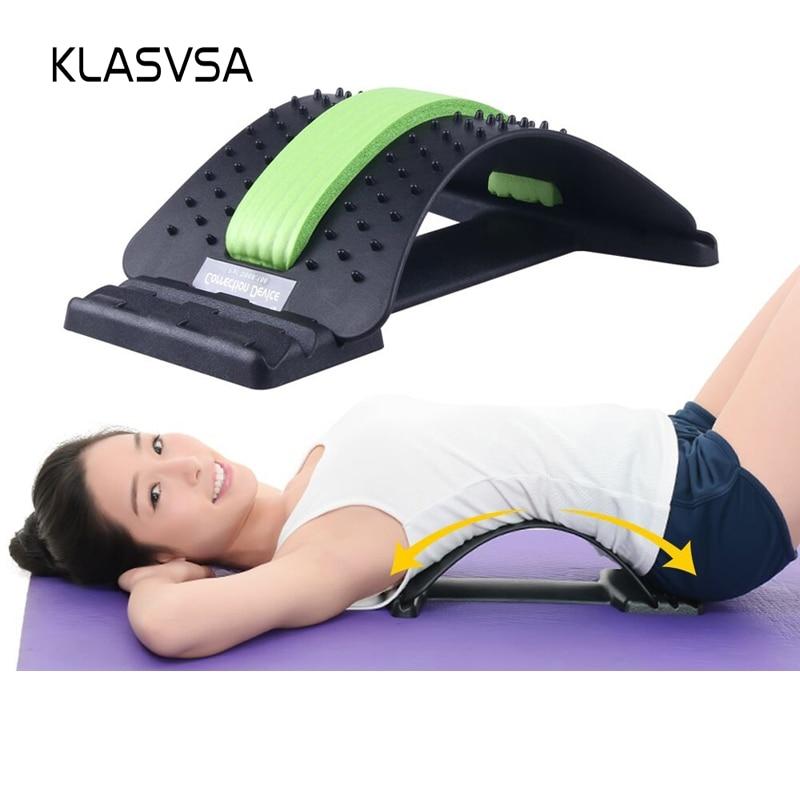 KLASVSA Zurück Massager Magie Bahre Ausrüstung Bahre Relax Kamerad Lenden Unterstützung Wirbelsäule Schmerzen Relief Akupunktur Chiropraktik