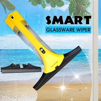 Cordless Electric Window Cleaner Rechargeable Household Glass Vacuum Car Window Steam Cleaner Machine Handheld Glassware Wiper