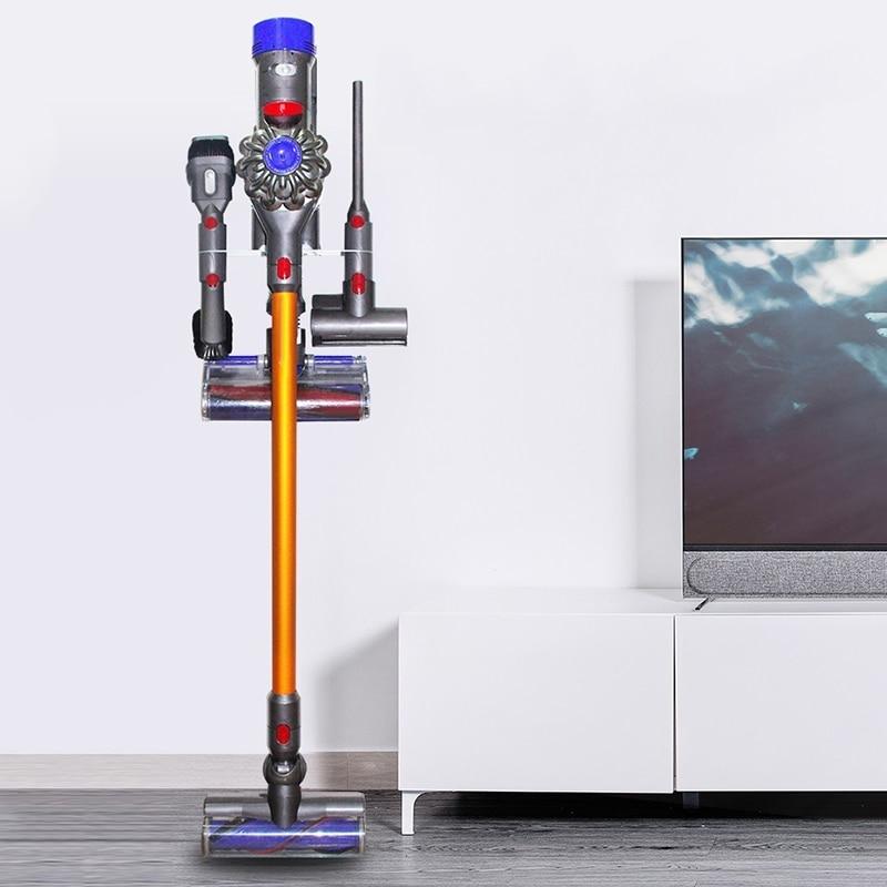 new vacuum cleaner part holder storage rack for dyson v7. Black Bedroom Furniture Sets. Home Design Ideas
