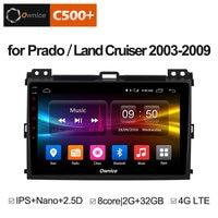 Ownice Multimedia Android 8.1 DVD GPS Navigation For Prado 2004 2009 Land Cruiser 2003 Stereo DAB+ DVR Car Play DAB PC
