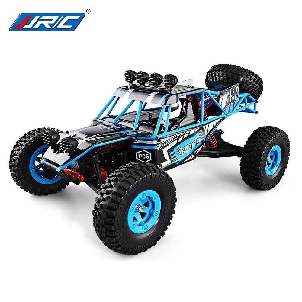JJRC Q39 RC voiture HIGHLANDER 1:12 4WD RC désert camion RTR 35 km/h vitesse rapide 1 kg couple élevé Servo 7.4 V 1500 mAh LiPo hors route voitures