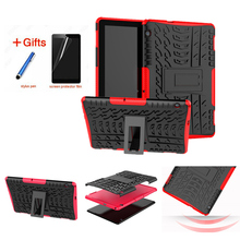 Case For Huawei MediaPad T5 10 AGS2-W09/L09/L03/W19 10.1 Cover Heavy Duty 2 in 1 Hybrid Rugged Durable Funda Tablet stand Shell slim business retro flip stand cover case for huawei mediapad m5 lite 10 case bah2 w09 bah2 l09 bah2 w19 10 1 tablet shell