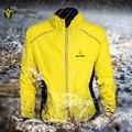 WOLFBIKE a prueba de viento de los hombres ciclismo chaquetas Tour de Francia reflectante impermeable de alta visibilidad luz deportes abrigo MTB bicicleta Jersey
