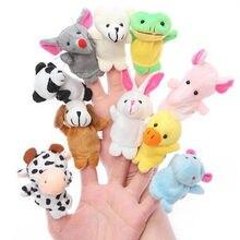 10 шт. куклы, детские куклы, новинка года, горячая Распродажа, детские игрушки с милыми мультяшными животными, обучающие игрушки