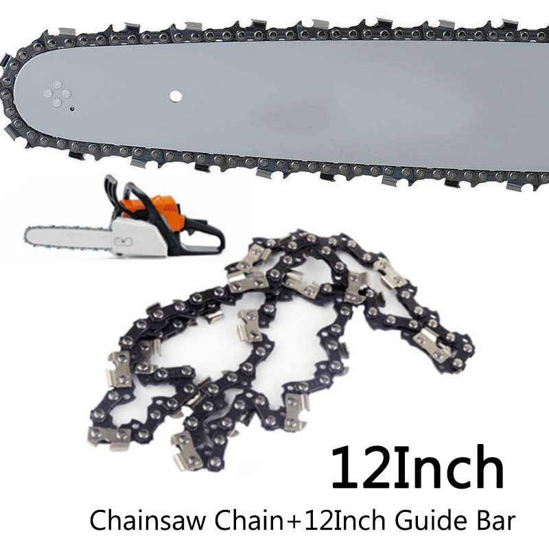 12 Chainsaw Saw Chain Blade 3//8LP Pitch .050 Gauge Replacement 44DL Drive Link