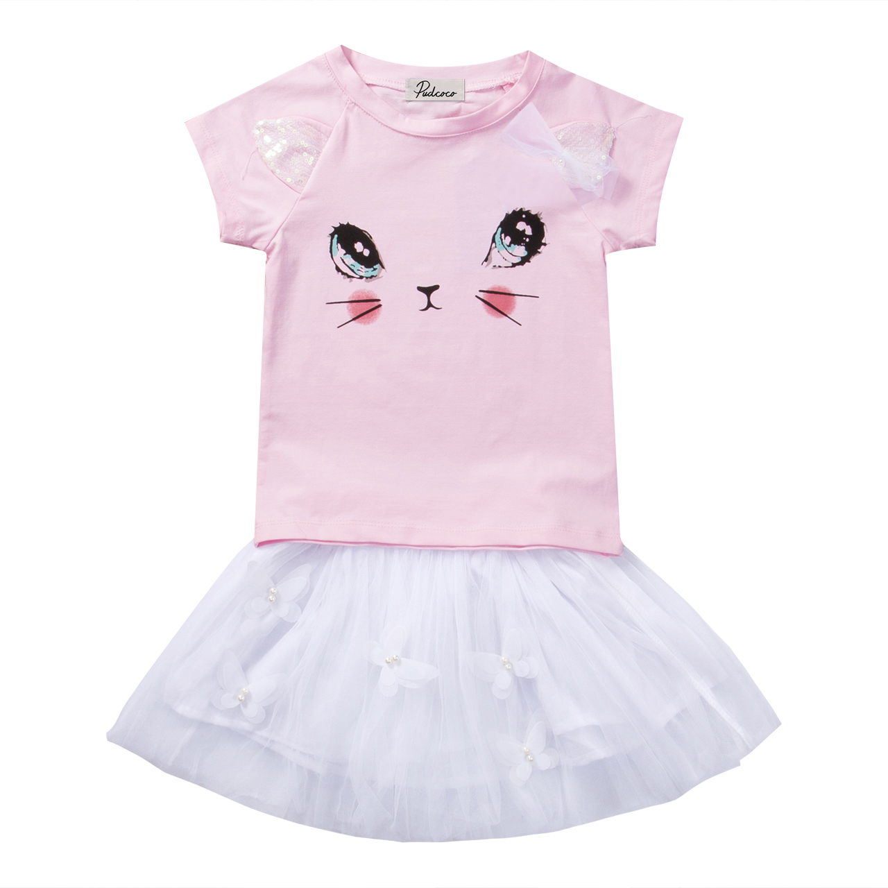 Reliable 2019 Pudcoco Newborn Baby Girl Summer Cotton T-shirt Tops Ruffle Tutu Shorts Outfits Clothes Mother & Kids